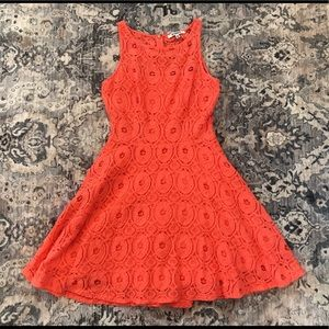 Lacey Floral Summer Dress